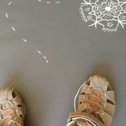 Stappen op het levenspad - Sandalen