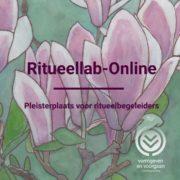 Aanbod: tweewekelijks Ritueellab-Online Magnolia waterverf van Lucie Theodora